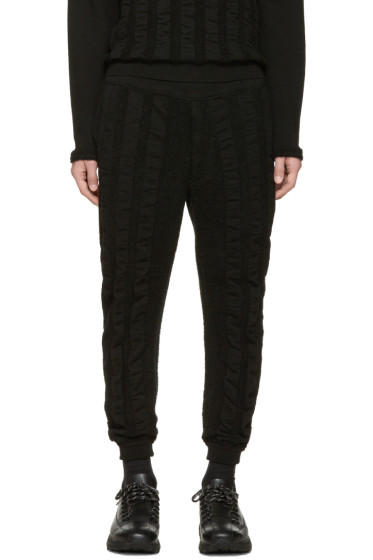 Issey Miyake Men - Black Wave Pile Lounge Pants