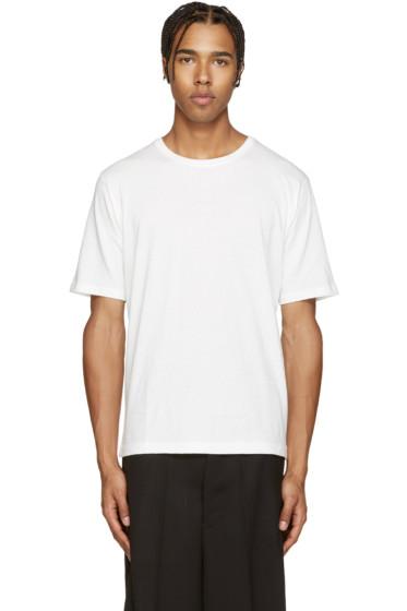 Issey Miyake Men - White Bio T-Shirt