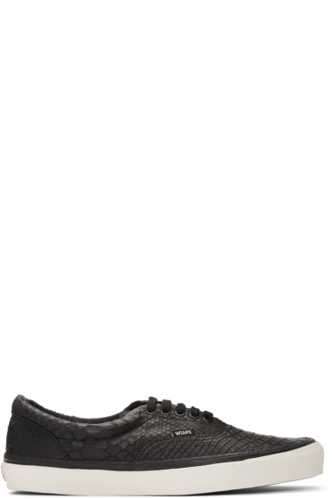 Vans - Black WTAPS Edition OG Era LX Anaconda Sneakers