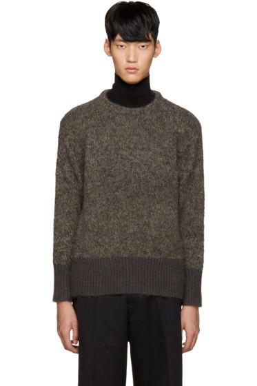 Tomorrowland - Brown Alpaca Sweater