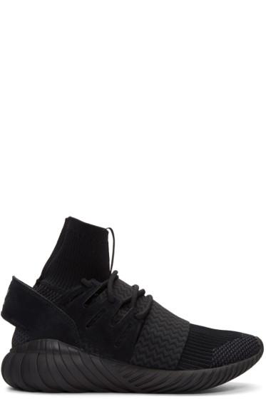 adidas Originals - Black Tubular Doom PK Sneakers