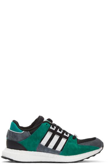adidas Originals - Black & White Equipment Support Sneakers