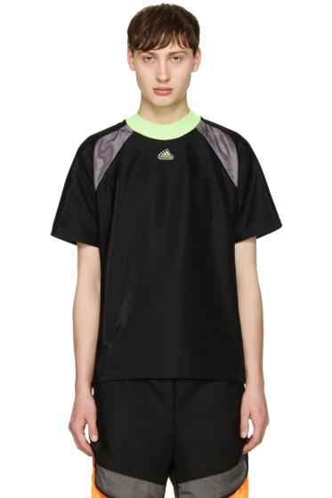 Adidas x Kolor - Black Film Yarn T-Shirt