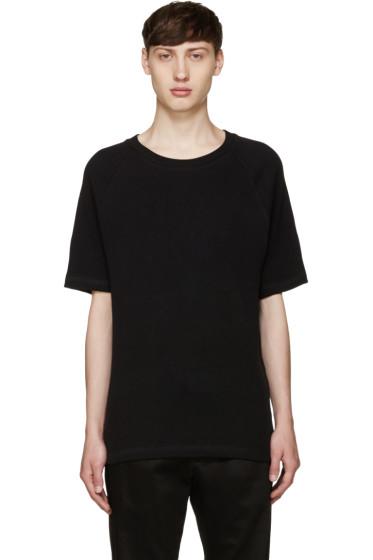Fanmail - Black Waffle T-Shirt