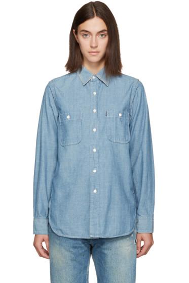 Chimala - Blue Chambray Work Shirt