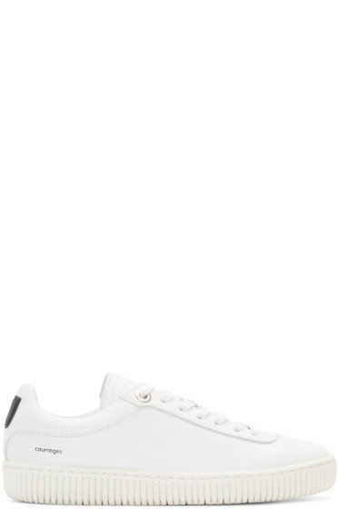 Courrèges - White Leather Sneakers