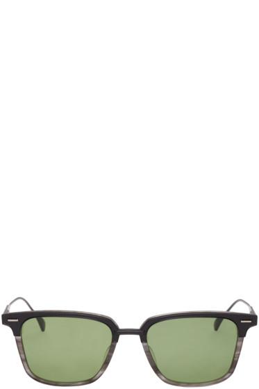 Dita - Black & Grey Oak Sunglasses
