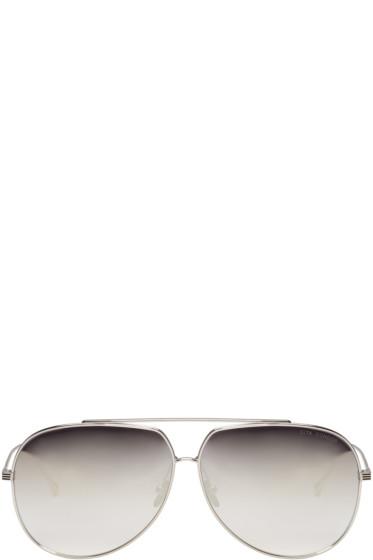Dita - Silver Condor Aviator Sunglasses