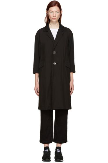 Tricot Comme des Garçons - Black Double-Breasted Coat