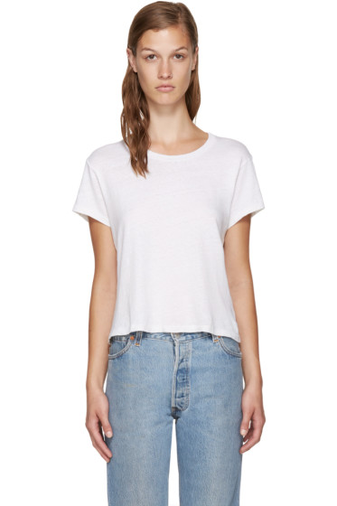 Re/Done - White Hanes Edition 1950's Perfect Boxy T-Shirt
