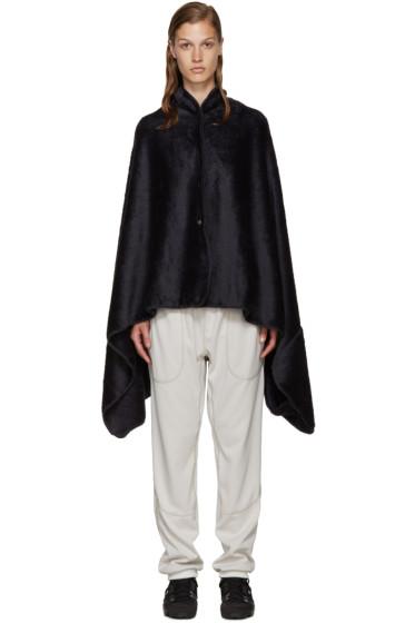 and Wander - Navy Fleece Stowaway Blanket