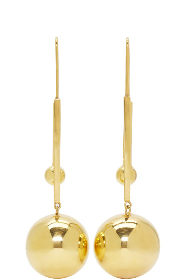 Prim by Michelle Elie - Gold Vici 25 Earrings