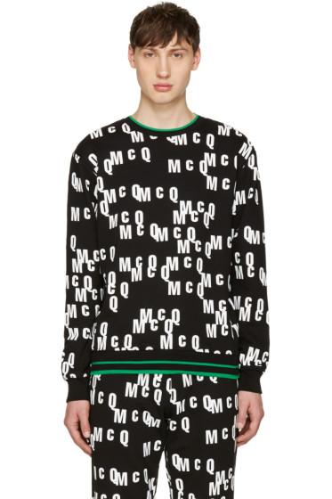 McQ Alexander Mcqueen - Black Logo Clean Pullover