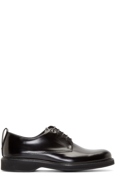 Want Les Essentiels - Black Leather Montoro Derbys