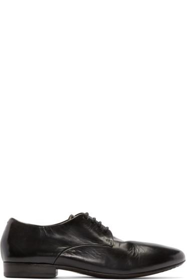 Marsèll - Black Leather Sassello Derbys