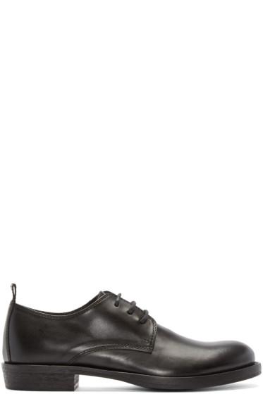 Ann Demeulemeester - Black Leather Derbys