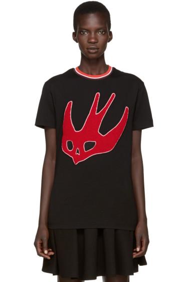 McQ Alexander Mcqueen - Black Varsity T-Shirt