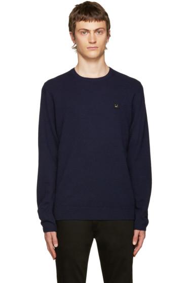 Acne Studios - Navy Dasher O Face Sweater