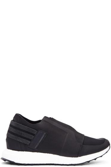 Y-3 - Black XRay Zip Low Sneakers