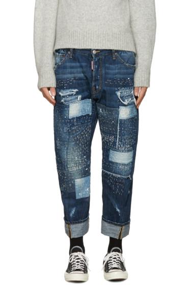 Dsquared2 - Blue Work Wear Jeans