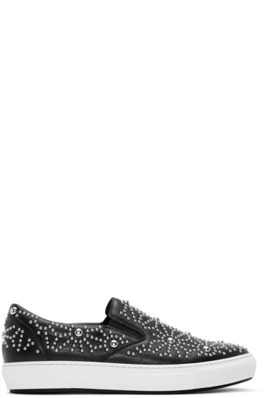Dsquared2 - Black Studded Pop Tux Sneakers