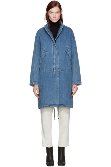 Helmut Lang - Blue Denim Parka