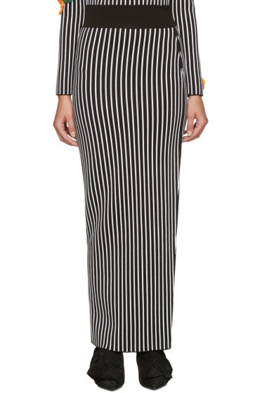 Christopher Kane - Black & White Striped Skirt