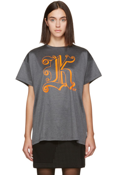Christopher Kane - Grey 'Kane' T-Shirt