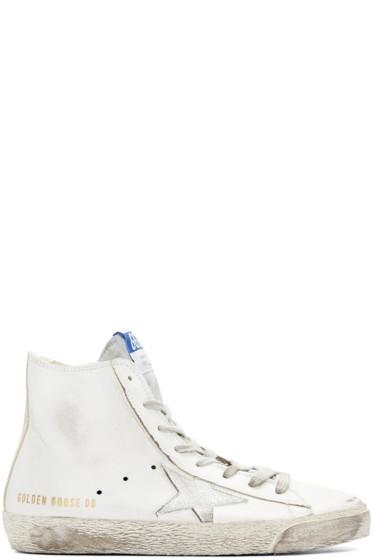 Golden Goose - White Francy High Top Sneakers