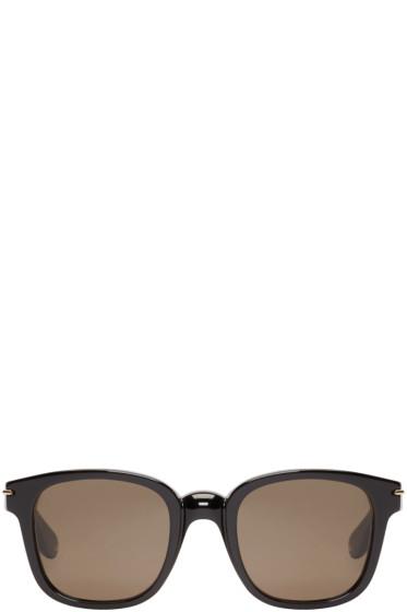 Givenchy - Black Square Acetate Sunglasses