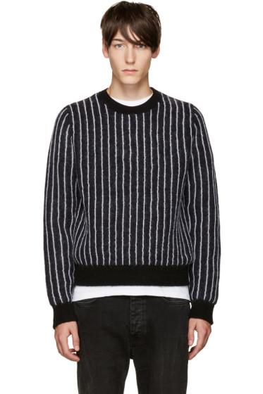 3.1 Phillip Lim - Navy Pinstripe Sweater
