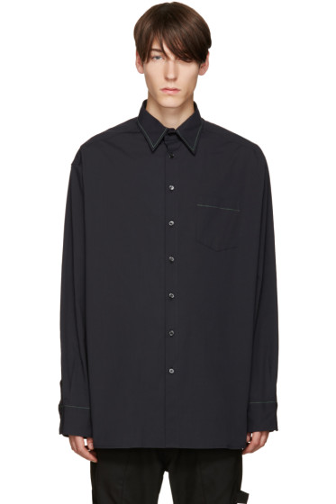 Raf Simons - Navy Oversized Shirt