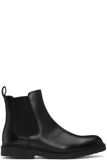 Neil Barrett - Black Studded Chelsea Boots