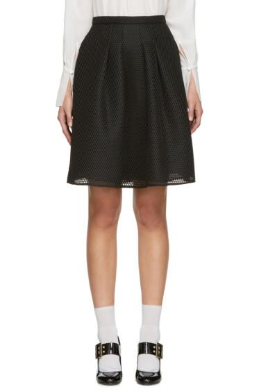 Burberry - Black Duddon Skirt