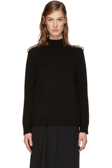 Burberry - Black Druie Sweater