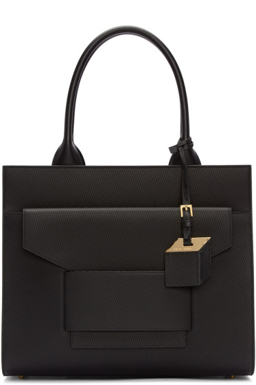 Pierre Hardy - Black Cube Metal Tote Bag