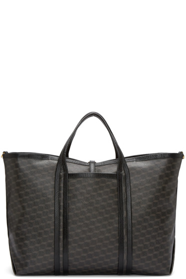 Pierre Hardy - Black Canvas Polycube Tote