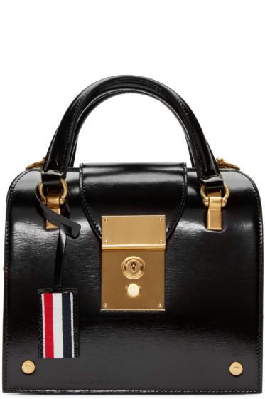 Thom Browne - Black Mini Mrs Thom Duffle Bag