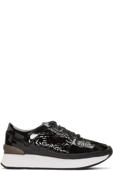 Kenzo - Black Flying Logo Sneakers