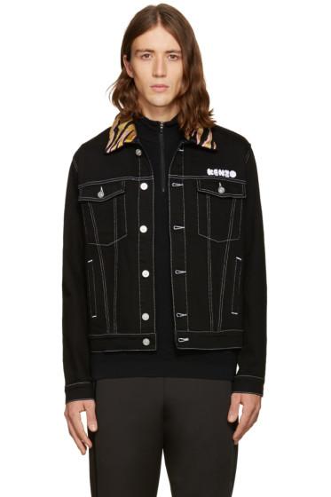 Kenzo - Black Denim Jacket