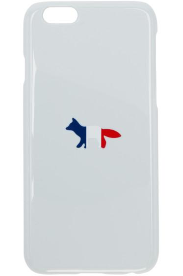 Maison Kitsuné - Grey Tricolor Fox iPhone 6 Case