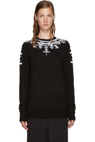 Marcelo Burlon County of Milan - Black Huemules Sweater