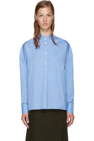 Each x Other - Blue Band Collar Shirt