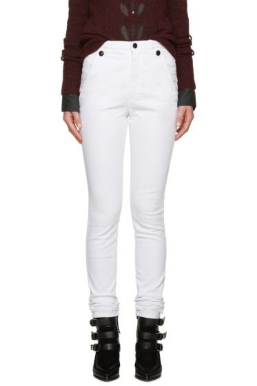 Isabel Marant - White Meryl Jeans