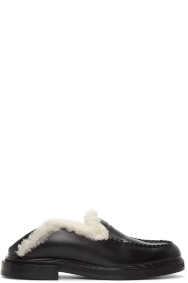 Fendi - Black & White Loafers