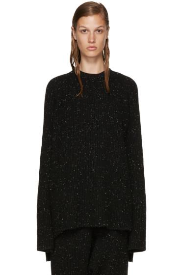 Baja East - Black Cashmere Ribbed Sweater