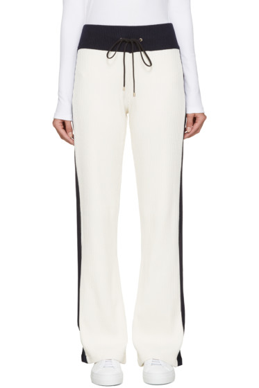 Atea Oceanie - Ivory Ribbed Lounge Pants
