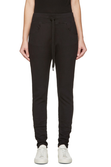 Earnest Sewn - Black Kendall Lounge Pants