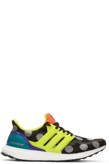 Adidas x Kolor - Black Ultra Boost Sneakers