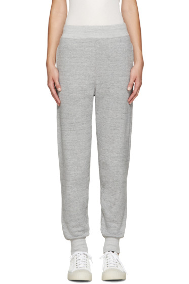 Hyke - Grey French Terry Lounge Pants